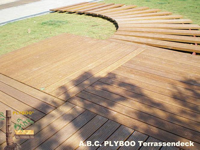 terrassendielen aus bambus ihre. Black Bedroom Furniture Sets. Home Design Ideas